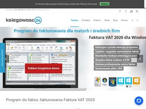 Ksiegowosc24.pl program do faktur z magazynem