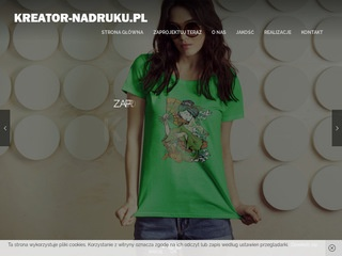 Kreator-nadruku.pl koszulki z własnym logo