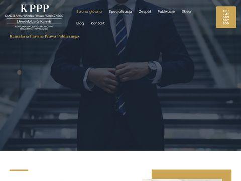 Kppp.com.pl prawo zamówień publicznych
