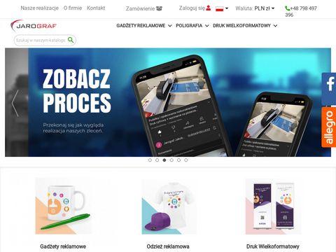 Jarograf.pl gadżety reklamowe Śrem agencja