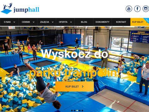 Jumphall.pl park trampolin Wrocław