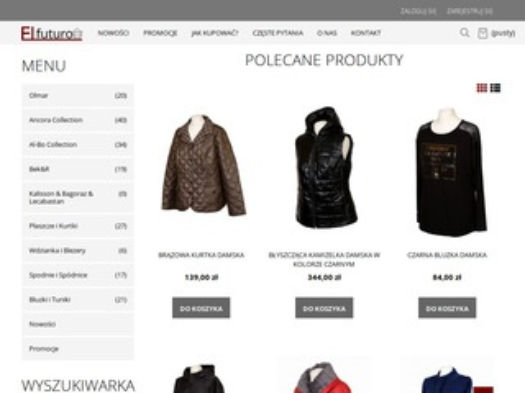 Elfuturo.pl polska odzież damska