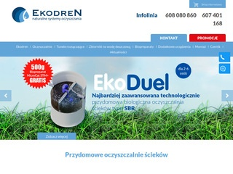 Ekodren.pl przydomowe oczyszczalnie ścieków