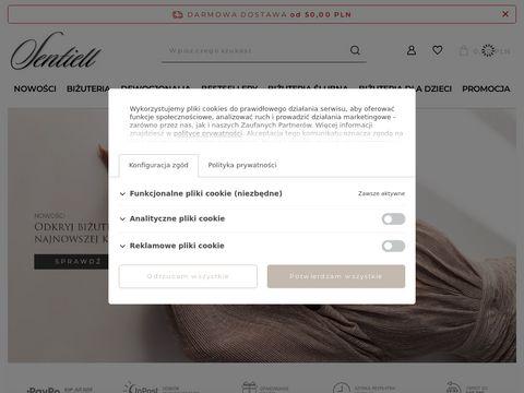 E-sentiell.com sklep jubilerski jewelry