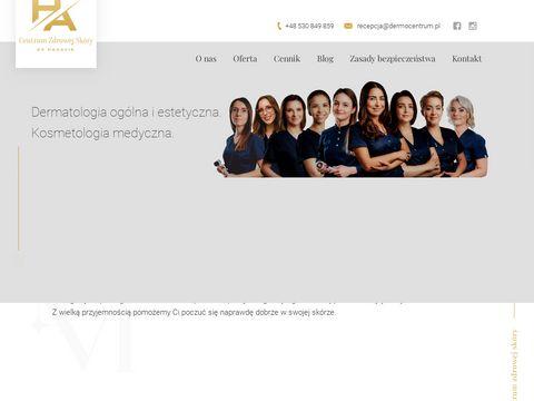 Dermocentrum.pl radiofrekwencja mikroigłowa