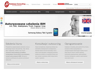 Dataconsulting.pl szkolenia Oracle