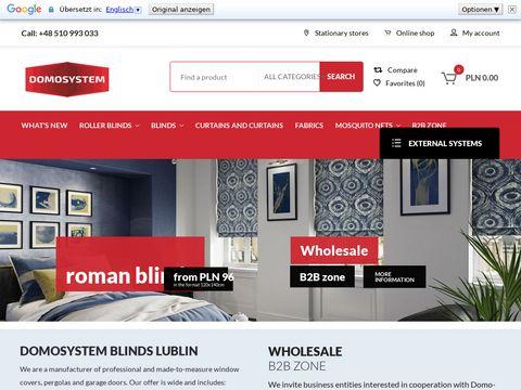 Fomosystem.pl firany i zasłony Lublin
