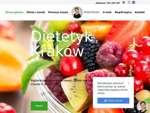 Dietetykskoczylas.pl gabinet dietetyczny Kraków