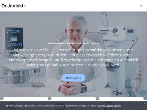 Drjanicki.pl neurochirurg