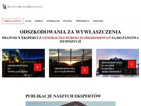 Gdo.org.pl odszkodowania za wywłaszczenia
