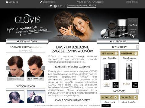 Zagęszczacz do włosów - glovis.pl