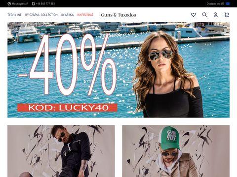 Gunsandtuxedos.com garnitury ślubne