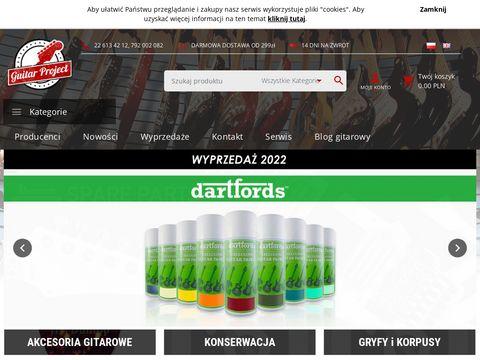Guitarproject.pl sklep muzyczny Warszawa