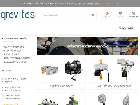 Gravitas.pl wciągarki korbowe Gebuwin