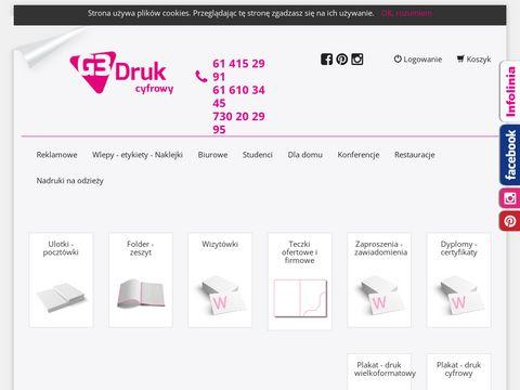 G3druk.pl drukarnia Poznań