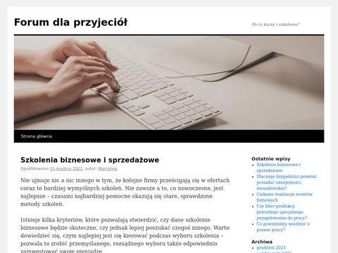 Forumdlaprzyjaciol.net.pl dla osób samotnych