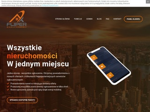 Fliper.nieruchomosci.pl monitor rynku mieszkań