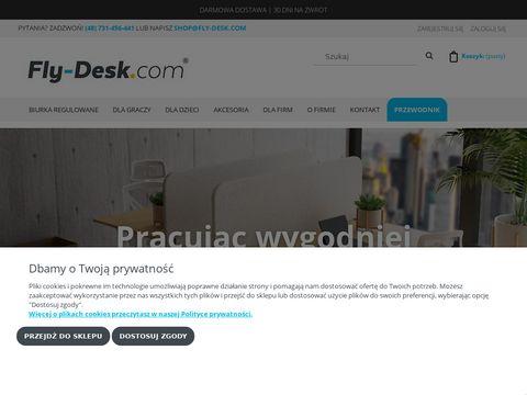 Fly-Desk.com biurko regulowane elektrycznie