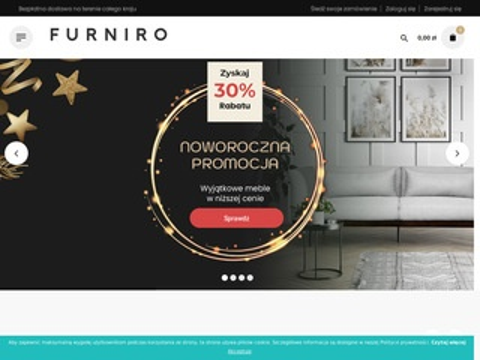 Furniro.pl stolik pod telewizor industrialny