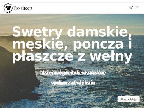 Frosheep.pl męskie swetry wełniane