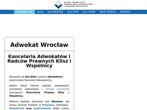 Adwokat-wroclaw.biz.pl usługi prawne