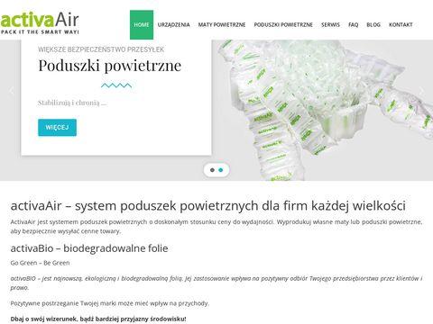 Activaair.pl wypełniacze powietrzne
