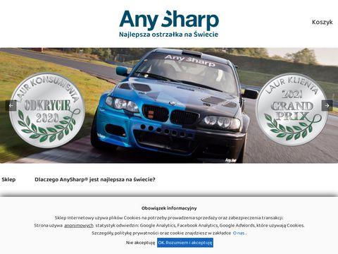 Anysharp.pl najlepsza ostrzałka do noży