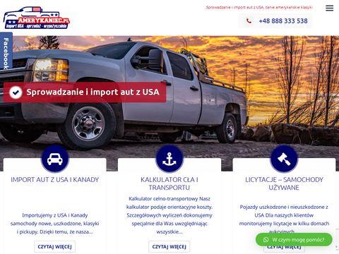 Amerykaniec.pl import aut z USA