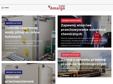Amargotwinn.pl zbiorniki na wodę chemoodporne