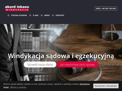 Akordinkaso.pl windykacja Warszawa