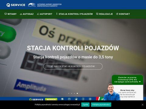 Autogaz-swarzedz.pl montaż instalacji LPG Poznań
