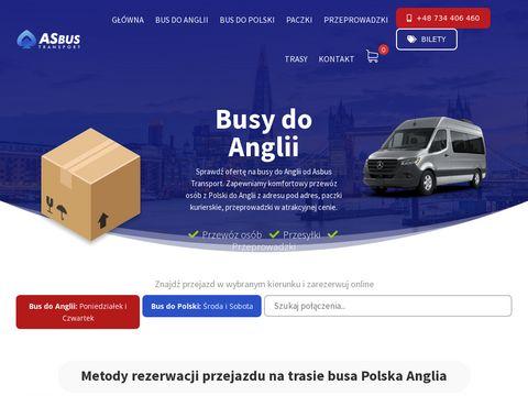 Asbus-transport.pl bus Polska Anglia