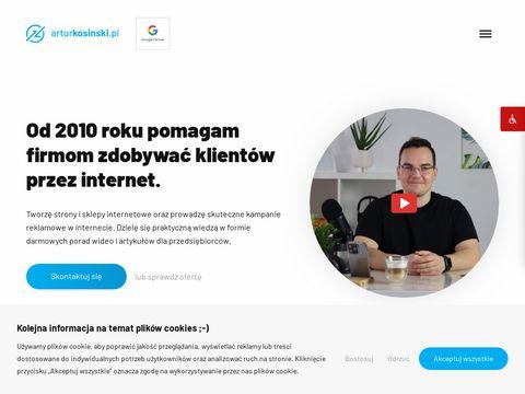 Arturkosinski.pl tworzenie stron www