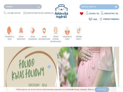 Apteczka-madrali.pl produkty na mukowiscydozę