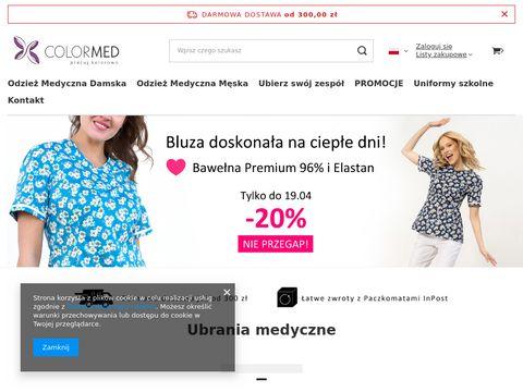 Colormed.pl odzież medyczna