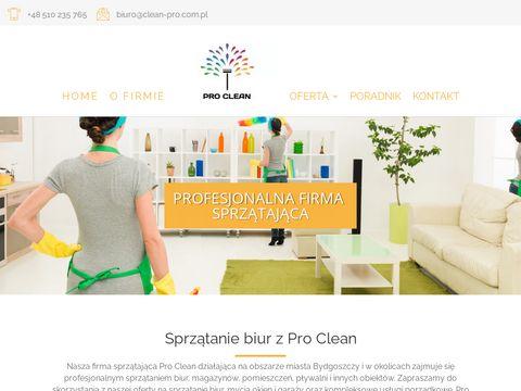 Clean-pro.com.pl sprzątanie biur