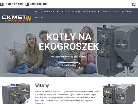 Ckmet.pl usługi ślusarsko-spawalnicze