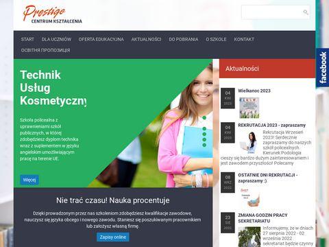 Ck-prestige.pl kursy szkolenia Zielona Góra