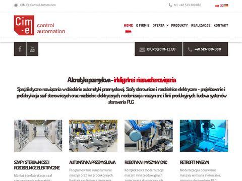 Cim-el.eu automatyzacja produkcji Gdańsk