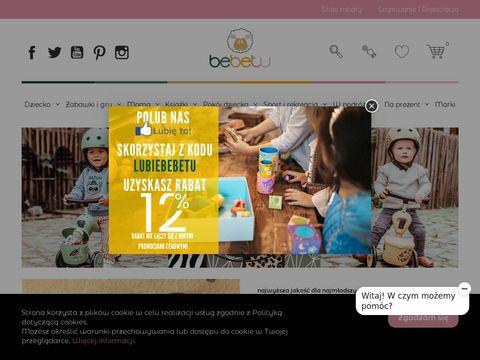 Bebetu.pl - akcesoria dla najmłodszych