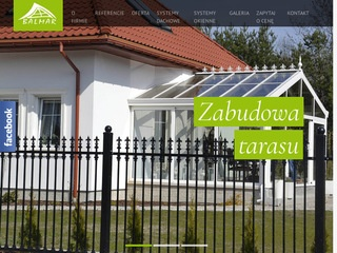 Balmar.pl zadaszenie tarasu ogród zimowy