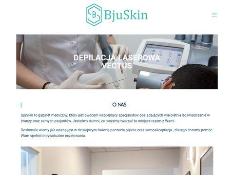 Bjuskin.pl - depilacja laserowa Łódź