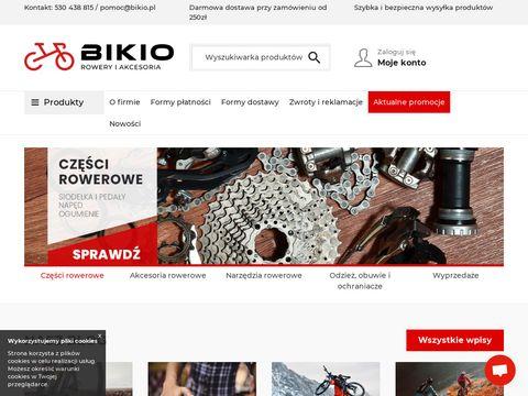 Bikio.pl akcesoria rowerowe