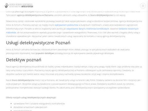 Biurodetektywistyczne-24.pl Poznań