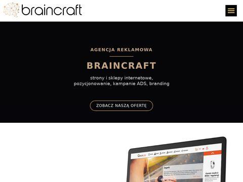 Brcr.pl Braincraft projektowanie stron www Zabrze