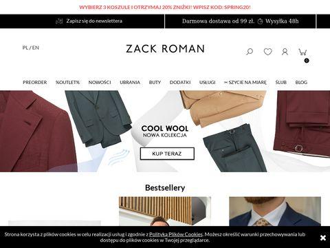 Zackroman.com moda męska
