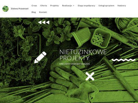 Zielonaprzestrzen.pl projektowanie ogrodów Wrocław