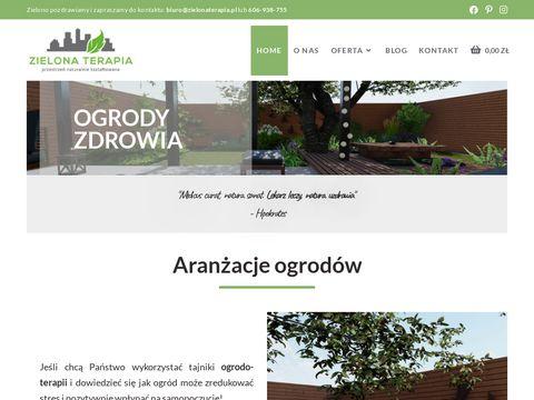 Zielonaterapia.pl projektowanie ogrodów Kraków