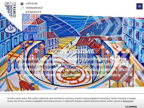 Zigzagframes.pl ramy na obrazy