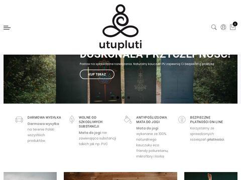 Utupluti.pl mata do jogi